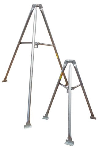 ROHN Tripod Roof Towers - Tripod Roof Mounts